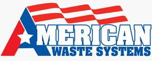 American Waste Systems Logo Design
