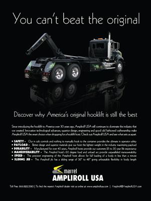 Ampliroll Waste Industry Print Ad Design