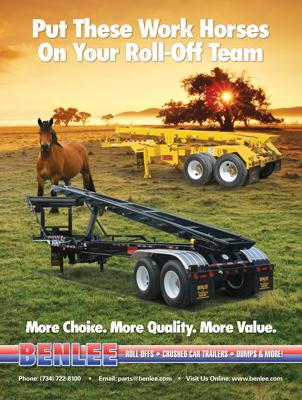 BENLEE Waste Industry Magazine Print Ad Design