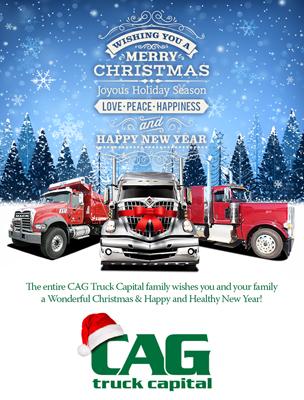 CAG Truck Financing Print Magazine Ad Design