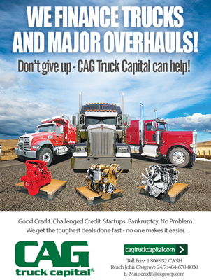 CAG Finance Magazine Print Ad Design