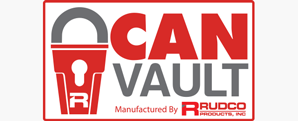 Can Vault Logo Design
