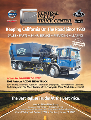 Central Valley Truck Center Magazine Print Ad Design