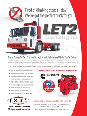 CCC Crane Carrier Magazine Print Ad Design