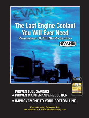 Evans Cooling Magazine Print Ad Design
