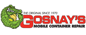 Gosnay's Mobile Container Repair Logo Design
