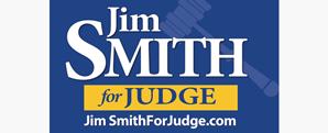 Jim Smith For Judge Logo Design