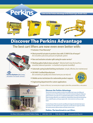Perkins Magazine Print Ad Design