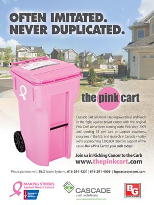 Pink Cart Magazine Print Ad Design