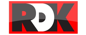 RDK Truck Sales Stylized Logo Design