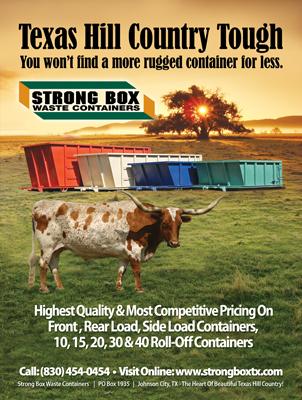Strongbox Container Magazine Print Ad Design