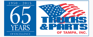 Trucks And Parts of Tampa Logo Design