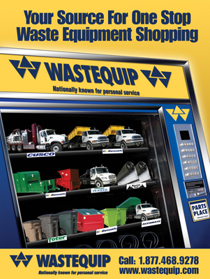 Wastequip Print Ad Design