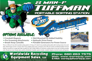 Worldwide Recycling Print Ad Design