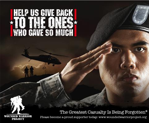 Military Foundation Ad Design