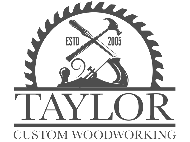 Logo Design For Taylor Woodworking By Double Vision