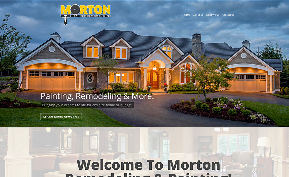 Website Design for Home Builders by Double Vision