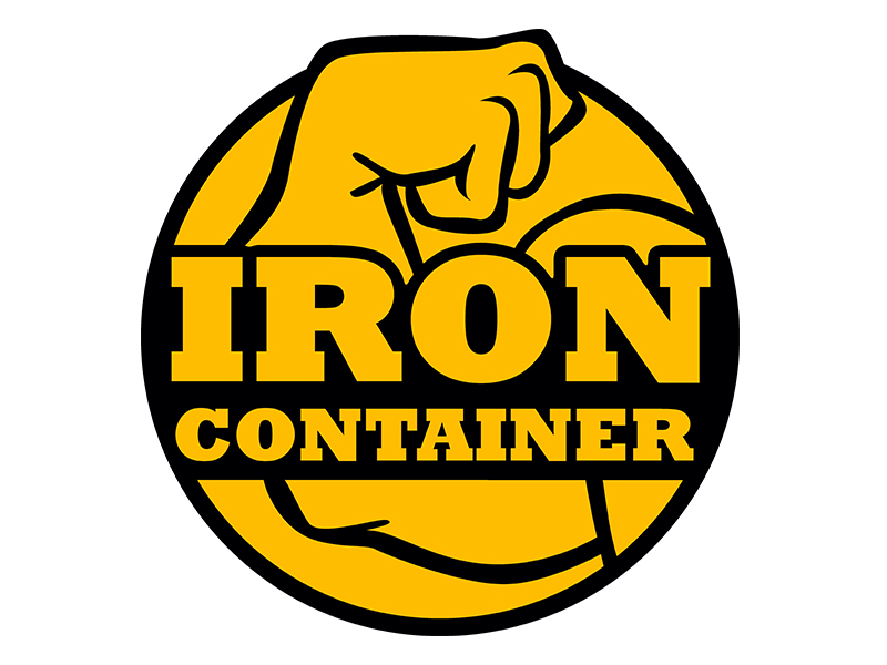 Logo Design For Iron Container By Double Vision Media Group