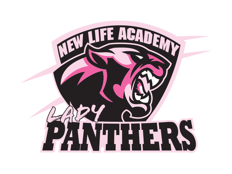 logo design for lady panthers by double vision