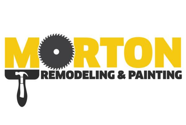 Morton Remodeling & Painting Logo Design