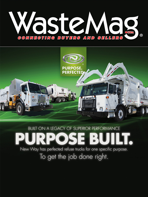 Waste Industry ad for New Way Garbage Trucks