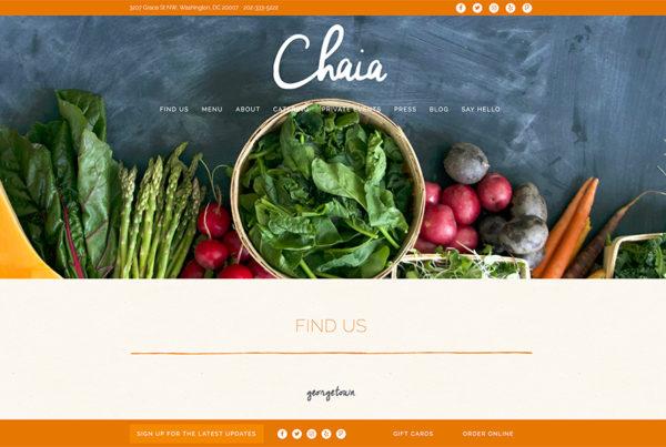 Restaurant Website Design Company Sample