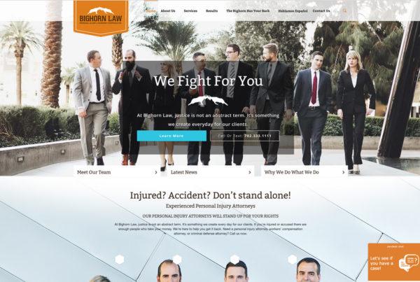 Allentown Law Office Website Design