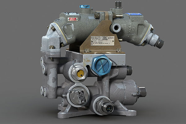 Industrial Parts 3D Modeling