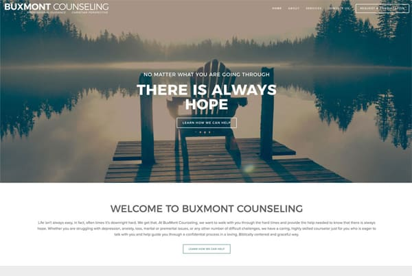 BucksMont Counseling Website Design