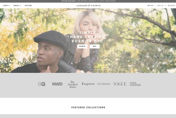Style / Fashion Website Design