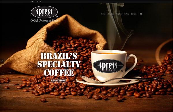 Specialty Coffee Importer Website Design