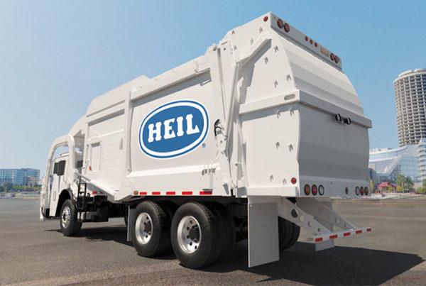 Heil Garbage Truck 3D Modeling Design