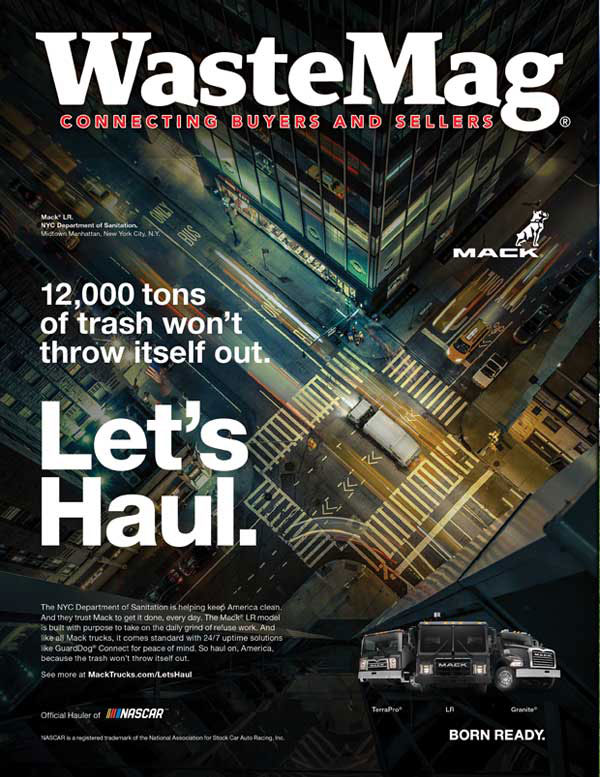 Waste Industry Magazine Cover
