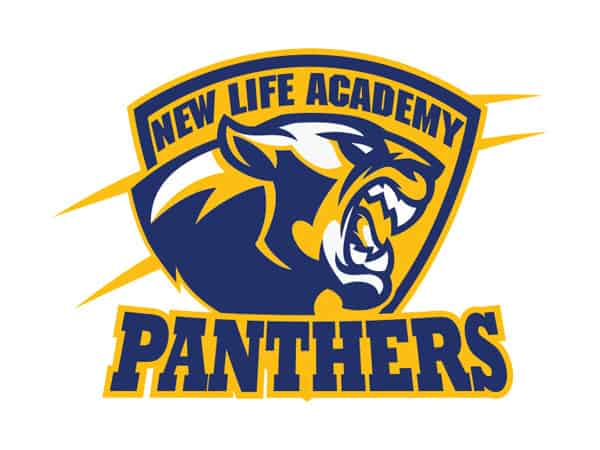 New Life Panthers School Logo