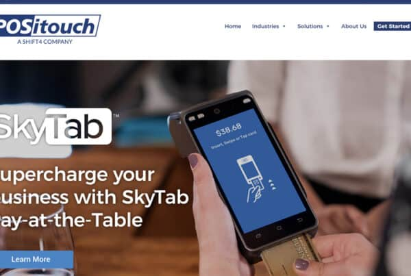 Skytab POSitouch Technology Company Website Design