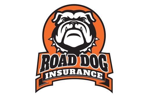 Road Dog Insurance Logo Design