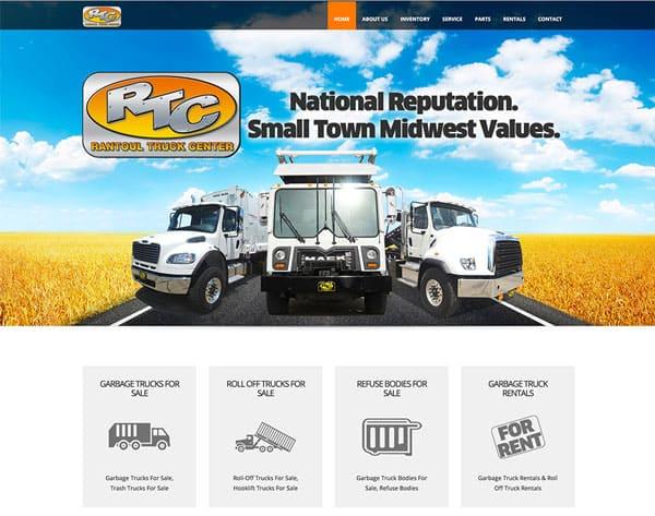 Rantoul Truck Dealership Website Design