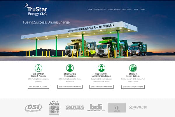 TruStar Energy Website